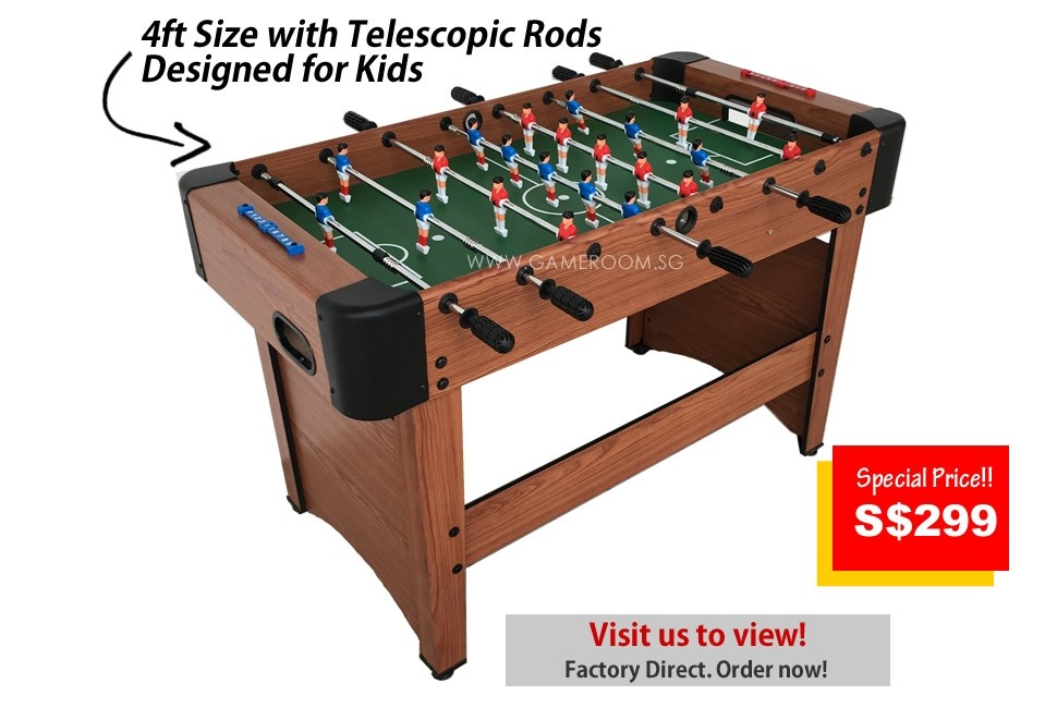 4ft Fighter Edition Soccer Table (Telescopic)