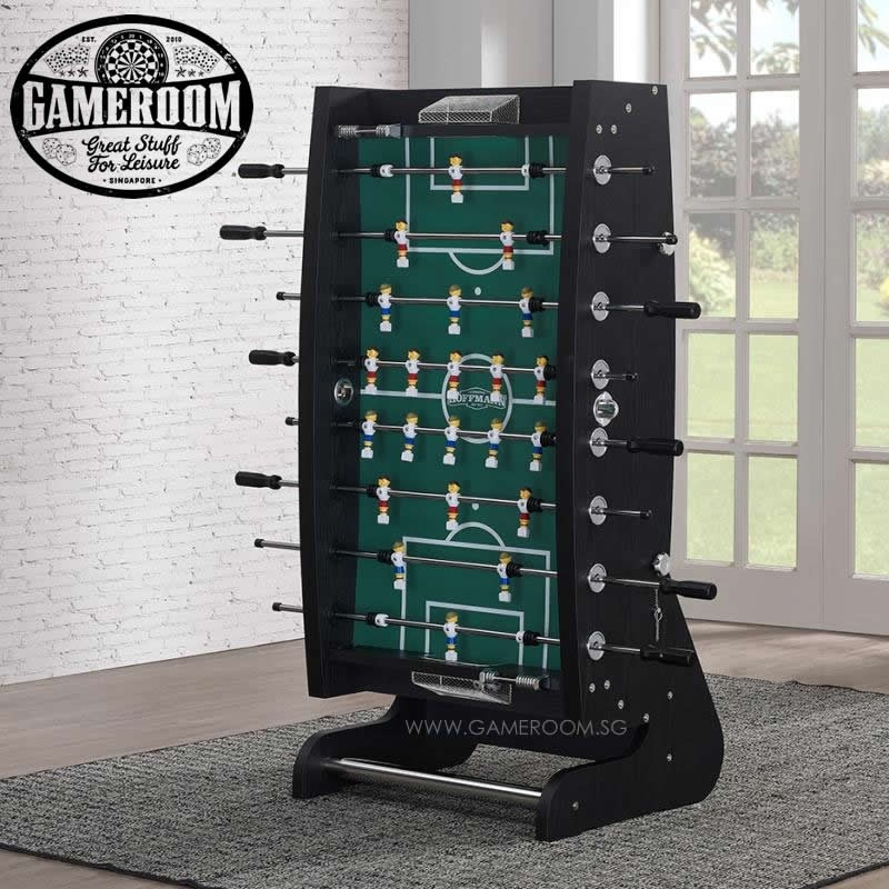 5ft Foldable Hoffmann Soccer Table (BLACK)
