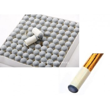 100pcs Disposable Tips for Cue Stick (13mm)
