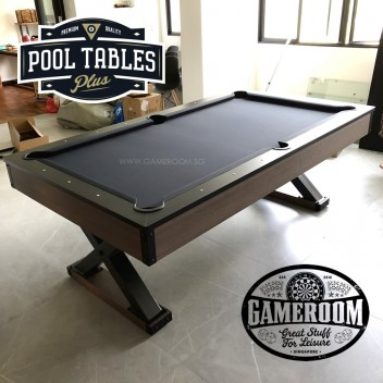 6ft Barrel X Pool Table