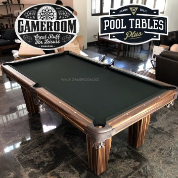 8ft Mahogany Pool Table