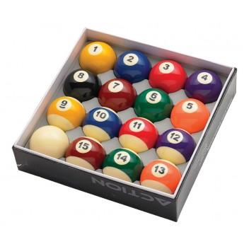 "2"" Basic Numbered Pool Ball Set"