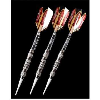 CueSoul 3pcs Soft Tip Dart Set (White Tip)