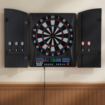 """18"""" FC Pro DartBoard with Cabinet"""