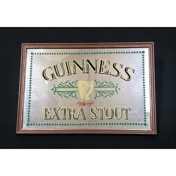Guinness Beer Mirror Sign