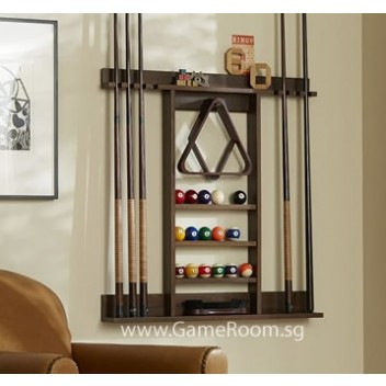 Mahogany Wall Rack