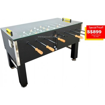 5ft Pro Edition Glass Top Soccer Table