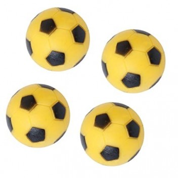 Basic Yellow ABS Foosball (4pcs)